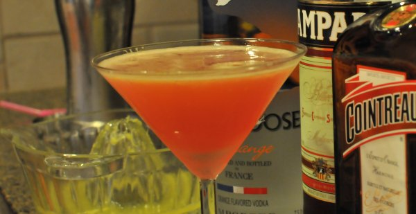 Rosetta Martini Cocktail