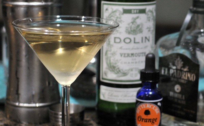 1942 cocktail with tequila and vermouth
