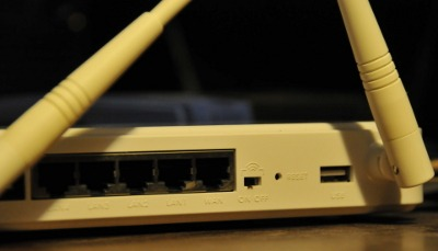 Network Router Ethernet Port
