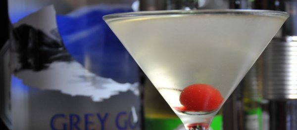 Absinthe Minded Martini with Vodka