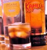 Black Russian with Vodka and Kahlua