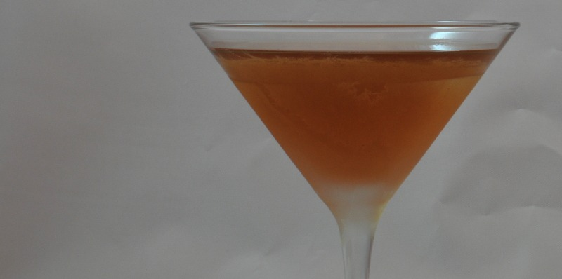 Brandy Cocktail in a martini glass