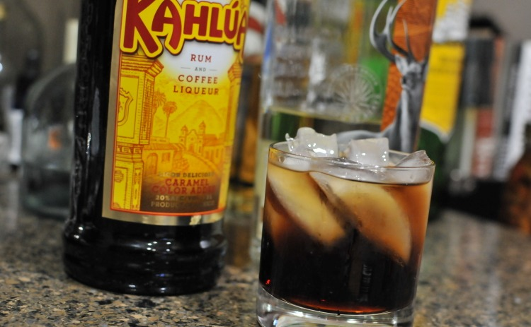 brave bull with tequila and kahlua