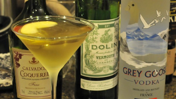Classic Apple Martini Drink Recipe