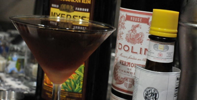 cuban manhattan cocktail
