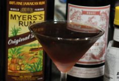 cuban manhattan with rum