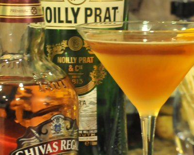 Dry Rob Roy with Dry Vermouth