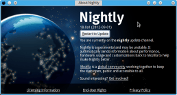 Update Firefox Nightly