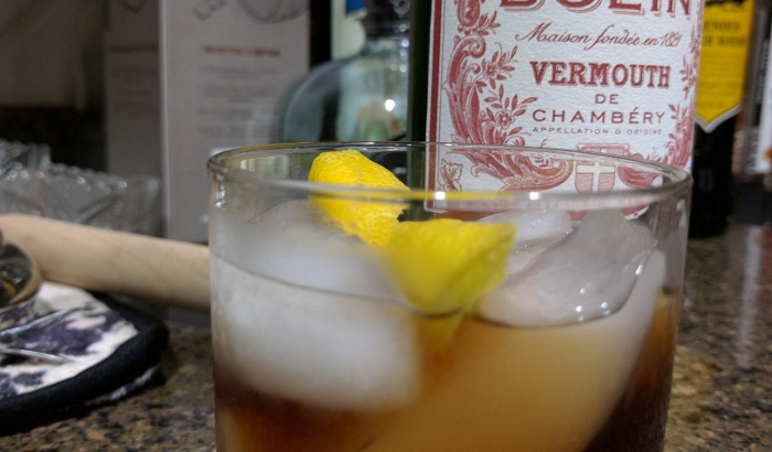 Sweet Vermouth Cocktail