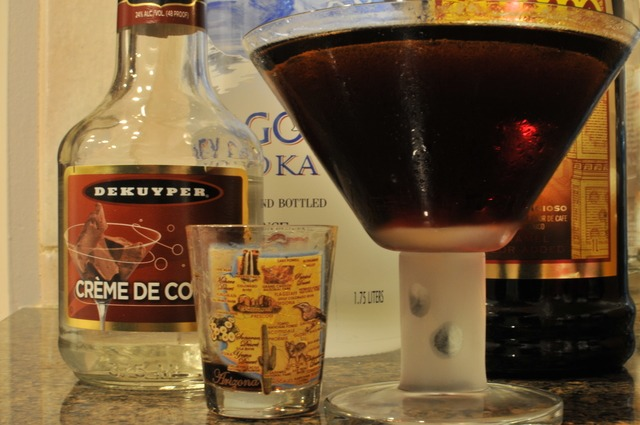 Kahlua Martini with Espresso