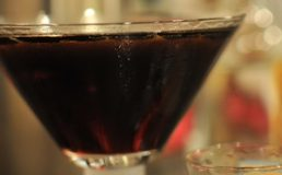 Martini with Kahlua and Espresso