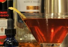 Rob Roy drink with Scotch Whiskey