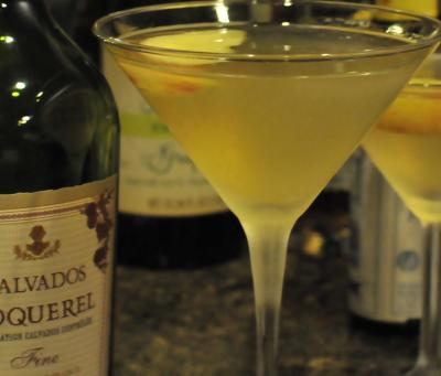 Rumpletini Cocktail Martini