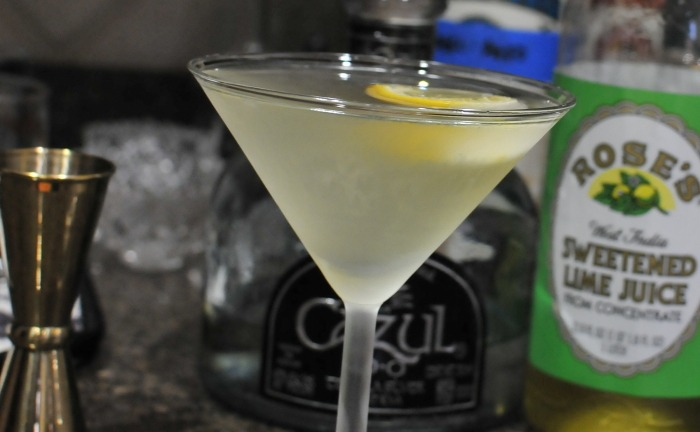 tequila gimlet - cocktail